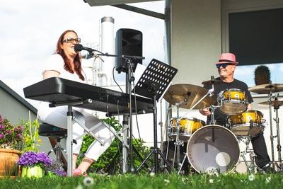 Jazz auf der Gjaid Alm